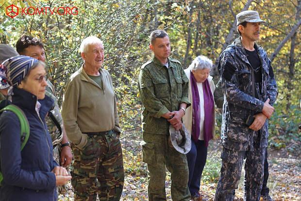 Пограничникам открыли памятник в Бахчисарайском районе
