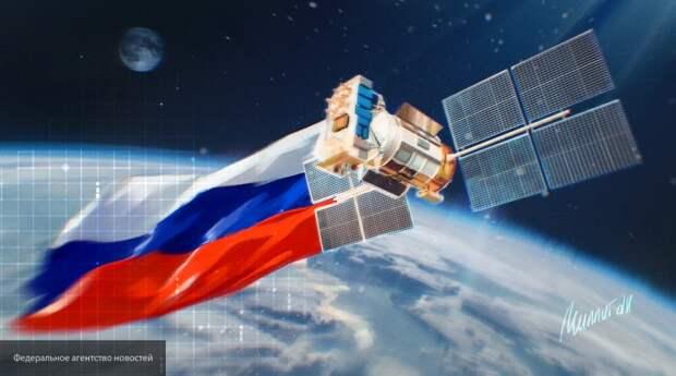 Россия создаст систему управления армадой спутников на орбите