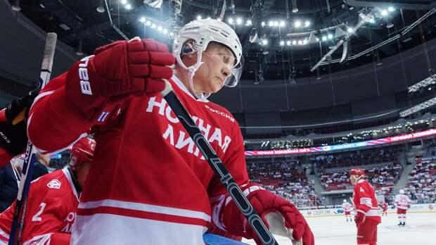 Владимир Путин: «За один хоккейный матч теряю 1,5-2 килограмма»