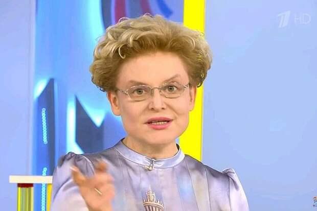 Елена Малышева показала лицо годовалой внучки