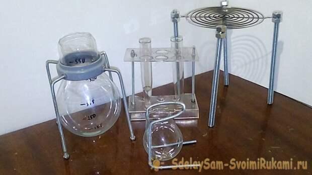Химическая посуда своими руками
