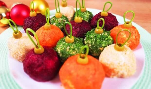 Украшение салатов на Новый 2021 год: как украсить, самые лучшие идеи43