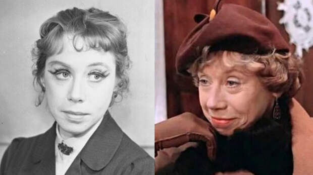 Бабушки советского кино: как выглядели в молодости и почему поздно стали популярны