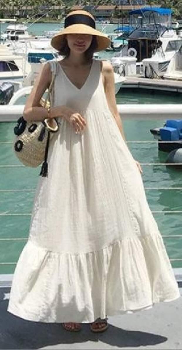 платье парашют