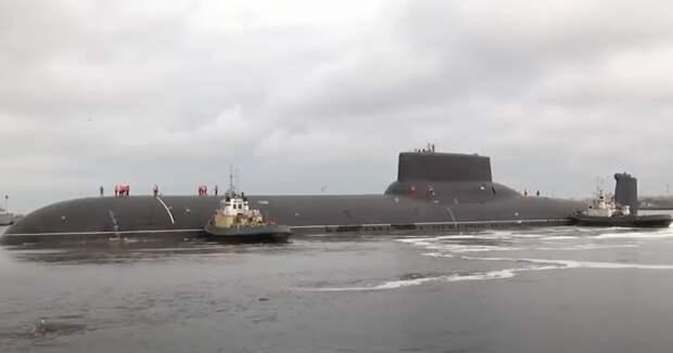 Ожидаем пополнение в Российском ВМФ: новая атомная подлодка «Казань» успешно проходит испытания