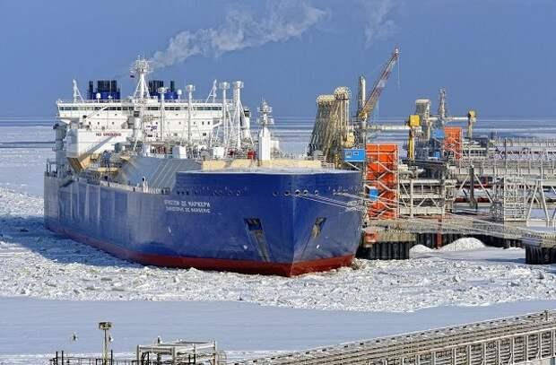 СПГ танкер экспорт