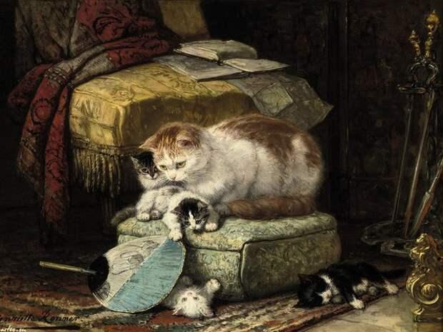 Художница, которая 30 лет рисовала только котиков