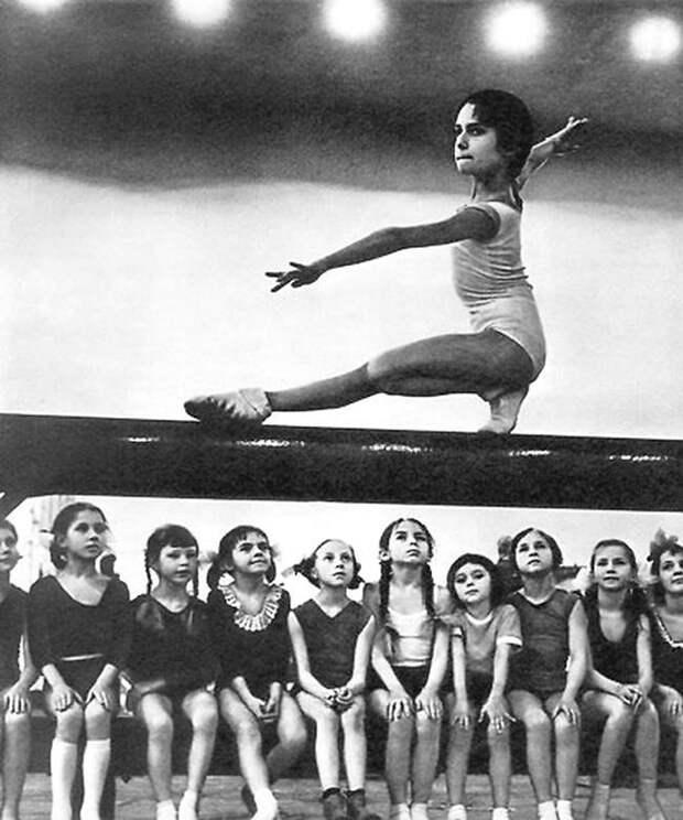 Гимнастки СССР, детство, фотографии