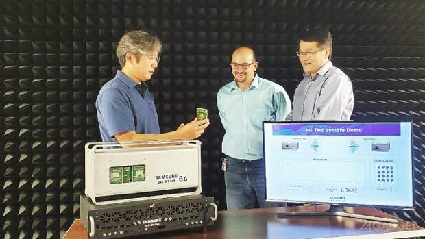 Создан прототип беспроводной связи 6G