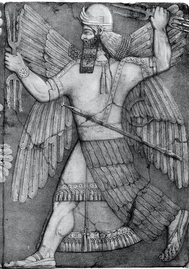 Древнешумерский бог Нинурта