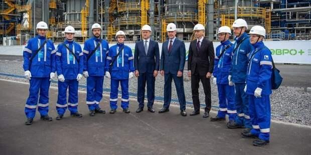 Московский НПЗ пустил в работу самый современный комплекс переработки нефти «Евро+»