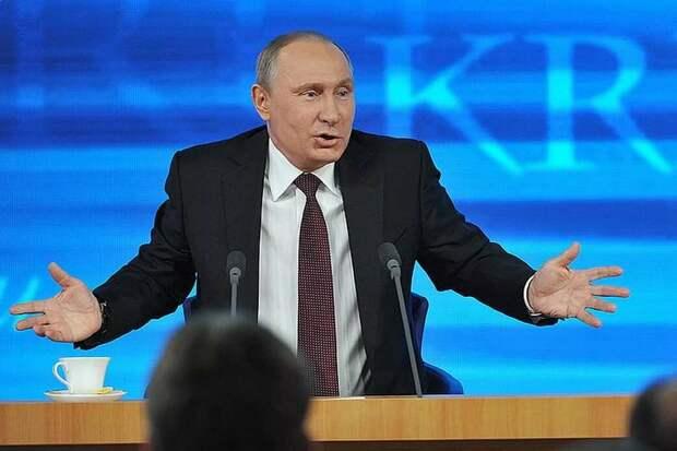 Политика Прибалтики привела к тому, что люди хотят голосовать за Путина.