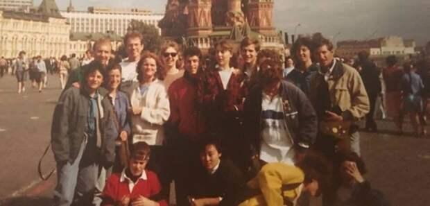 Американские студенты, Майкл Бом (июнь 1987, Москва)