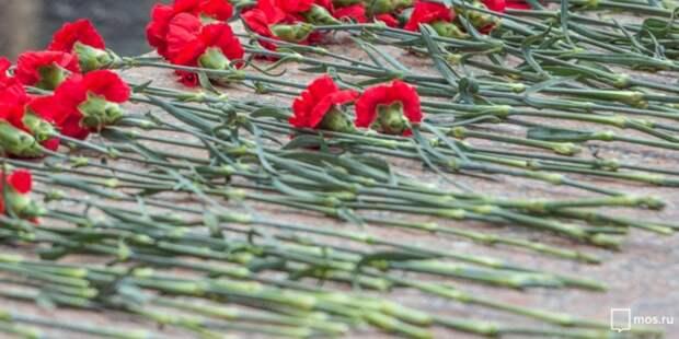 В Куркине полицейские почтили память погибшего товарища