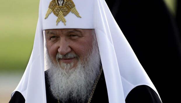 "Патриарх Кирилл заявил, что ""драма революции"" закрыта"