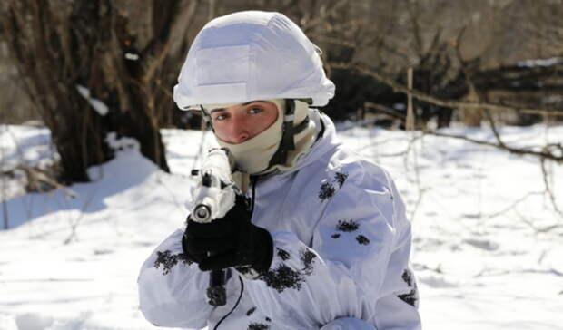 Ростовские разведчики отрабатывают стрельбу в горах Северного Кавказа