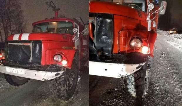Водителя пожарной автомашины хотят сделать виновником в ДТП с автомобилем, водитель которого скрылся авария, авто, авто авария, беспредел, дтп, пожарная машина, пожарный автомобиль, спецсигнал