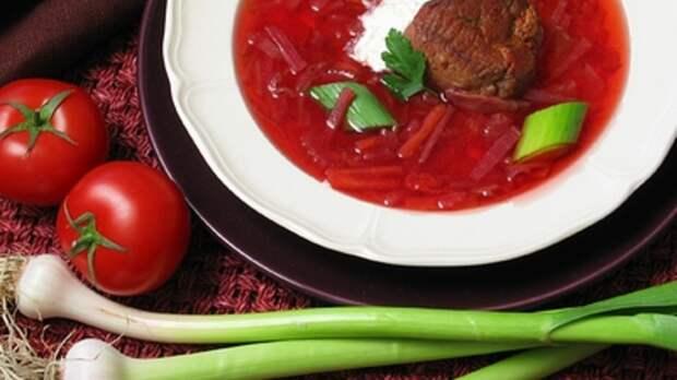 Борщ признали национальным украинским блюдом