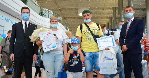 Аэропорт «Симферополь» впервые обслужил два миллиона пассажиров за первое полугодие