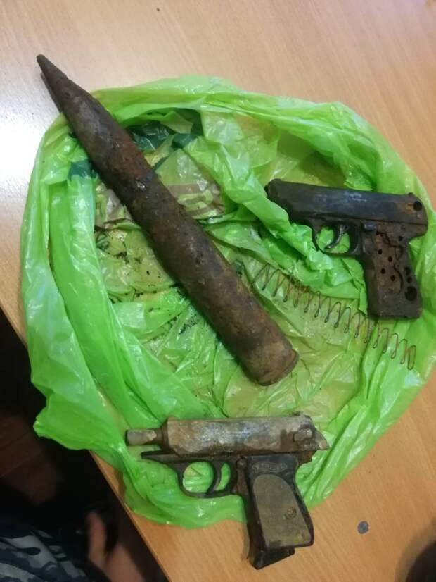 Снаряд от авиационной пушки обезвредили в Удмуртии