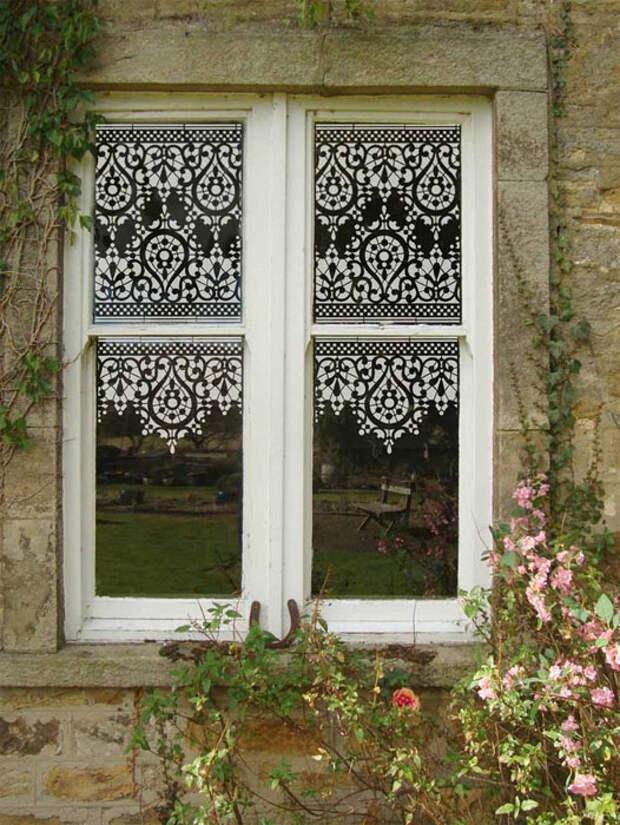Кружевные окна