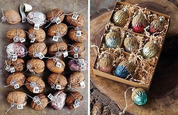 Щёлкаем орешки: скорлупа грецкого ореха как материал для вашего творчества, фото № 17