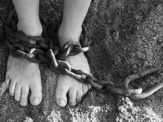 «Держала на цепи, морила голодом и била палкой»: в Петербурге мать истязала двух маленьких детей