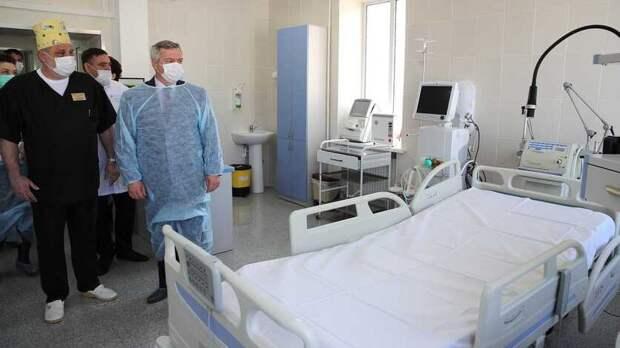Новую инфекционную больницу вРостове оснастят 121 аппаратом ИВЛ