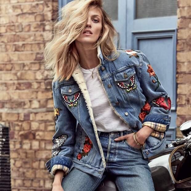 Особенности женских джинсовых курток