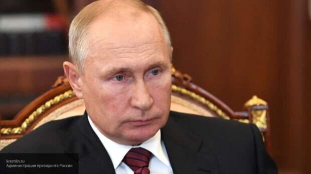 Путин: задержание россиян в Белоруссии было акцией спецслужб США и Украины