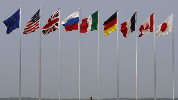 Французский политик предлагает снять санкции против России и вернуть ее в G8