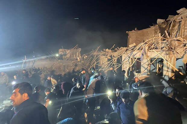 Армения нанесла ракетный удар по азербайджанскому городу Гянджи