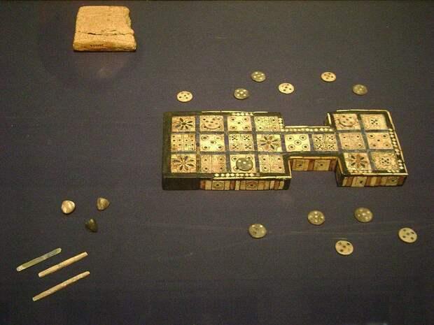 Древнейшая Шумерская королевская игра