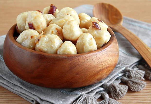 Рецепты по четвергам. Клёцки, ньокки, галушки, вареники. Несладкие ленивые вареники (3)