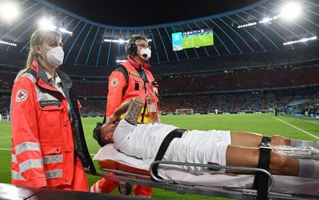 Спинаццола рассказал, когда вернется на поле после травмы, полученной на Евро-2020