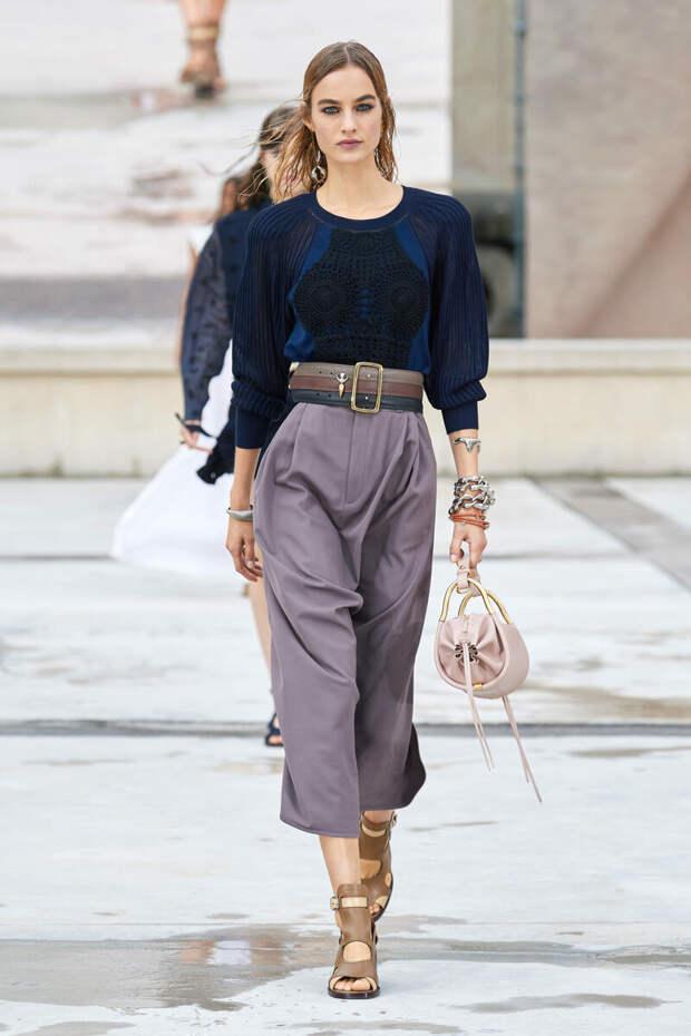 Изучаем модные тренды из коллекции весна -лето 2021 Chloe