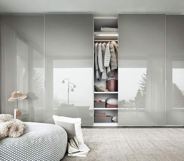 Шкафы-купе: выбираем модный фасад