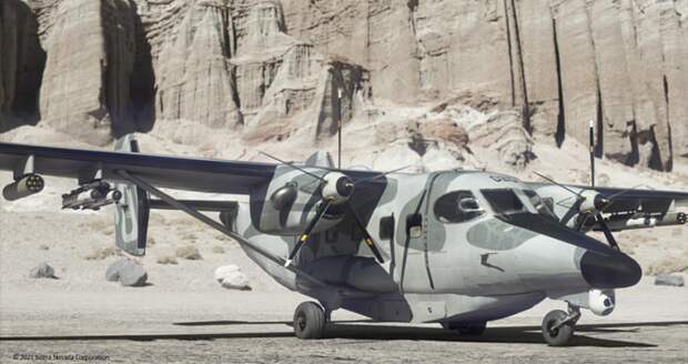 Штурмовик для американского спецназа с советским прошлым. MC-145B Coyote