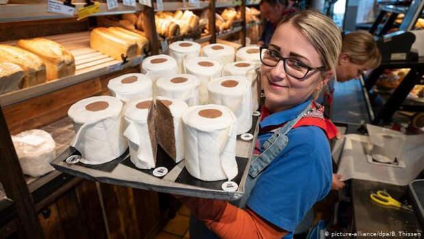 Немцы теперь могут есть туалетную бумагу