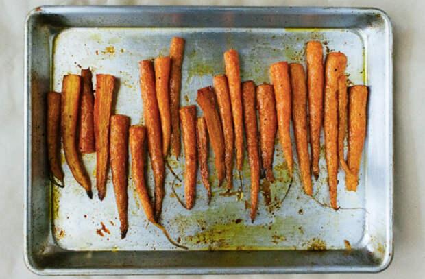 Ставим овощи в духовку по способу шефа и наслаждаемся вкусом