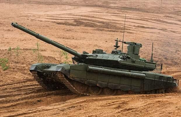 В российскую армию поступили новые танки Т-90М