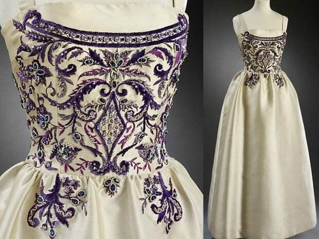 люневильский крючок, жемчуг натуральный, дизайнерская одежда