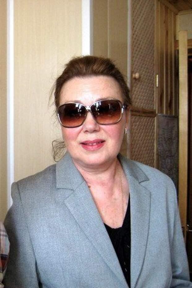 Советская актриса и мастер дубляжа Ольга Гаспарова.