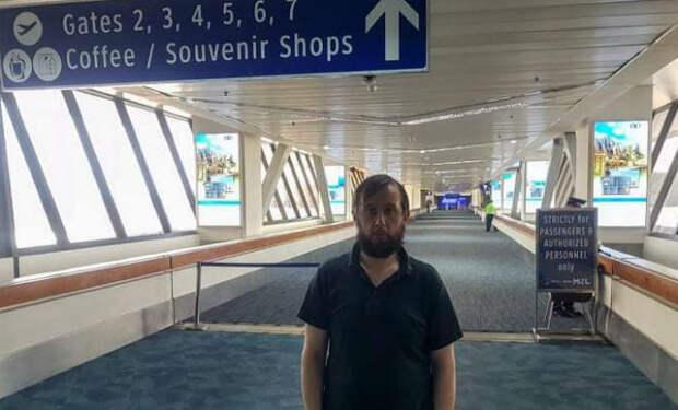 Роман в аэропорту