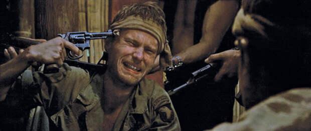 """""""Охотник на оленей"""". Драма о Вьетнамской войне."""
