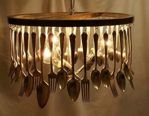 Кухонный светильник своими руками - лучшие идеи для дома 2017