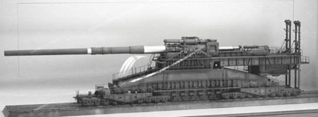 Любили немцы большие пушки.
