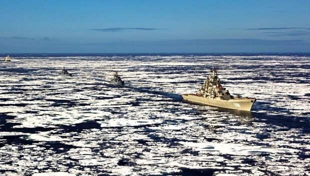 Россия вышвырнула США из Северного ледовитого океана
