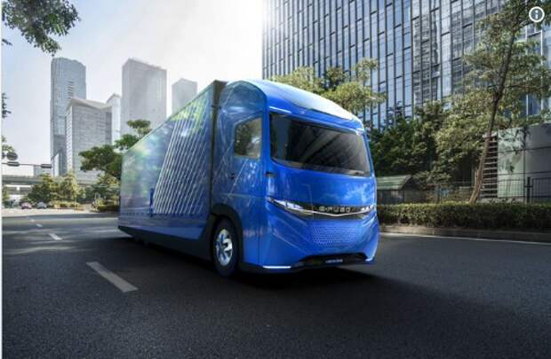 """Дочка"" Daimler опередила Tesla, представив электрогрузовик E-FUSO Vision One"