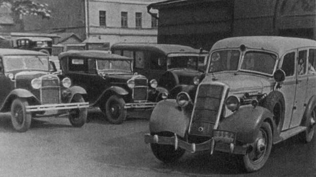 Московская скорая 1936